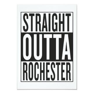 Cartão outta reto Rochester