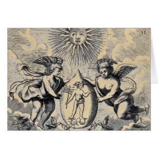 Cartão Ovo de Mercurius