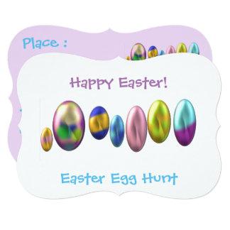 Cartão Ovos da páscoa