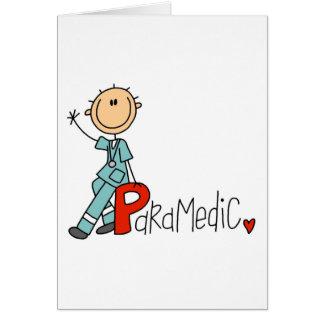 Cartão P é para o paramédico