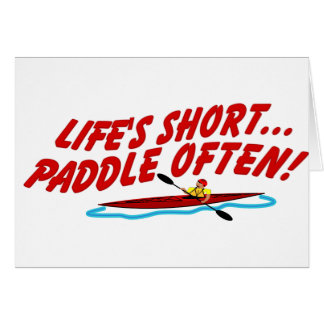 Cartão Pá curta de Lifes frequentemente