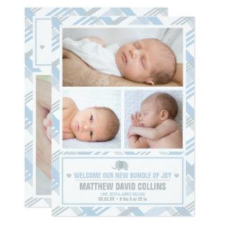 Cartão Pacote de alegria, anúncios do nascimento do
