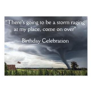 Cartão Pacotes de feno lifing do furacão ou do tornado da