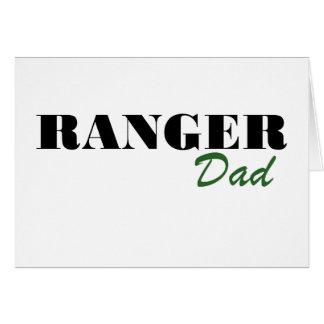 Cartão Pai da guarda florestal
