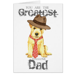 Cartão Pai de Norfolk Terrier