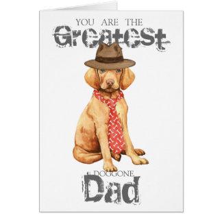 Cartão Pai de Vizsla