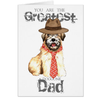 Cartão Pai Wheaten