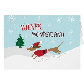 Cartão País das maravilhas do Wiener