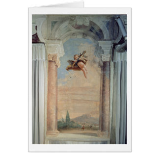 """Cartão Paisagem com Cupido, do """"Foresteria"""" (convidado"""