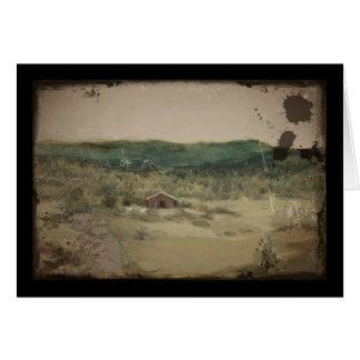 Cartão Paisagem ou Landskap