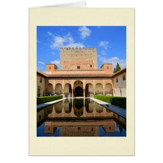 Cartão Palácio de Alhambra