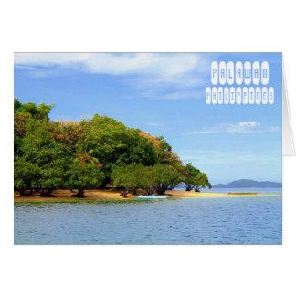 Cartão Palawan, Filipinas
