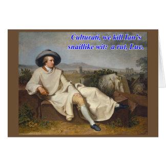 Cartão Palindrome de Culturati