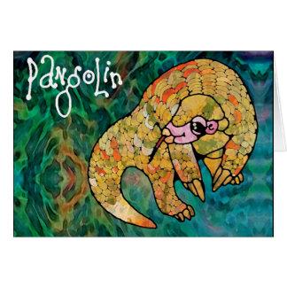 Cartão Pangolin