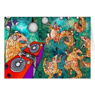 Cartão Pangolin do DJ Turntablist