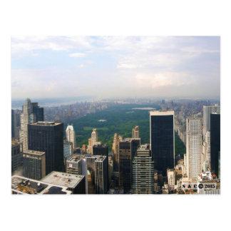 Cartão panorâmico da skyline da Nova Iorque