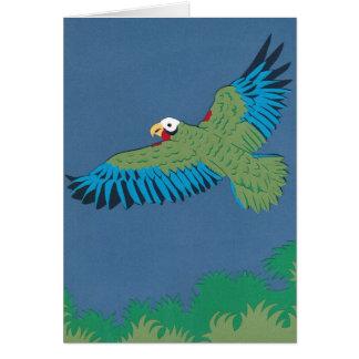 Cartão Papagaio cubano