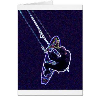 Cartão Papagaio surfer2