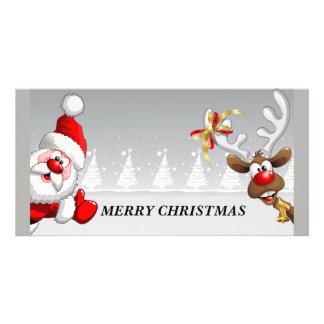 Cartão Papai noel do Feliz Natal