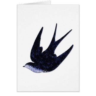 Cartão papel da andorinha cortado (livre)