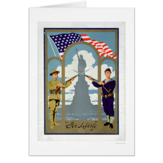 Cartão Para a liberdade (US02083)