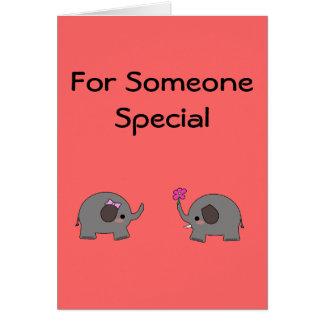 Cartão Para alguém especial