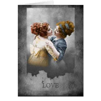 Cartão Para as meninas