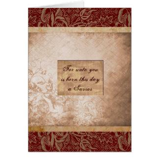Cartão Para até você é nascido este dia