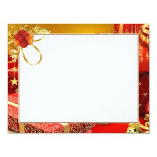 """Cartão para foto """"Presente"""" Convite 10.79 X 13.97cm"""