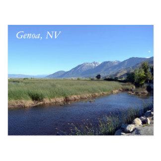 Cartão para Genoa, Nevada