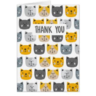 Cartão Para o amor dos gatos