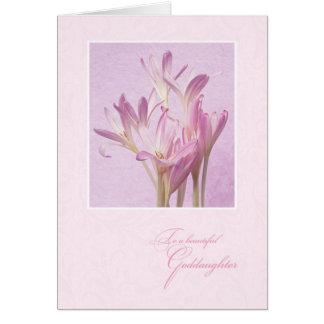 Cartão Para o dia das mães do Goddaughter