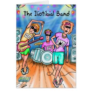 Cartão para os corredores - banda Iliotibial da