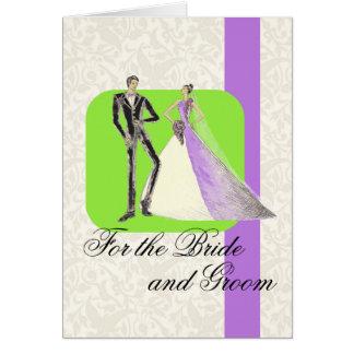 Cartão Para os noivos