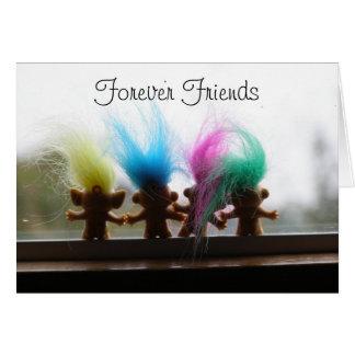 Cartão Para sempre amigos