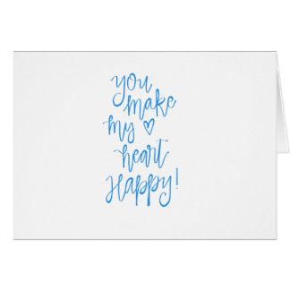 Cartão para seu amor