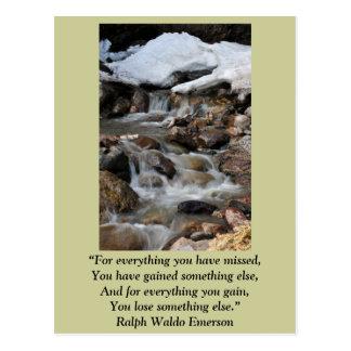 """Cartão """"para tudo você faltou"""" - Emerson"""
