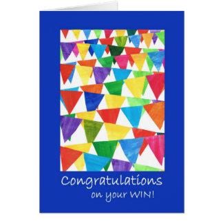 Cartão Parabéns brilhantes da estamenha no vencimento