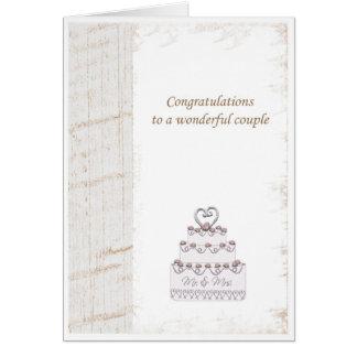 Cartão parabéns da remoção de ervas daninhas
