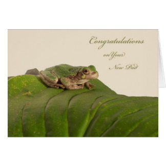 Cartão Parabéns na casa, no apartamento, ou no condomínio