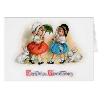 Cartão Parada Cuties da páscoa