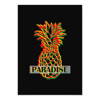 Cartão Paraíso do abacaxi
