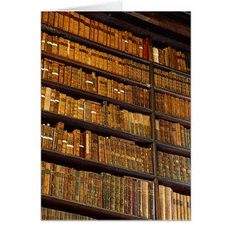 Cartão Parede da biblioteca