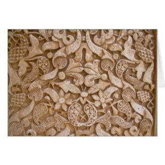 Cartão Paredes do Alhambra