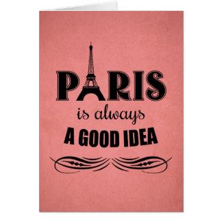 Cartão Paris é sempre uma boa ideia
