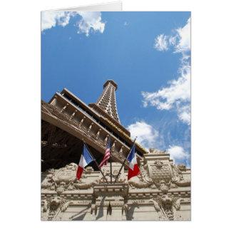 Cartão Paris em Las Vegas