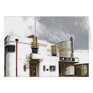 Cartão Parque Memorial Hall de Mosman, Perth
