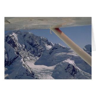 Cartão Parque nacional de Flightseeing Denali