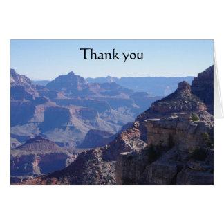 Cartão Parque nacional do Grand Canyon, borda sul