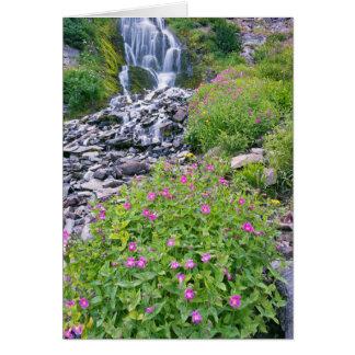 Cartão Parque nacional dos EUA, Oregon, lago crater